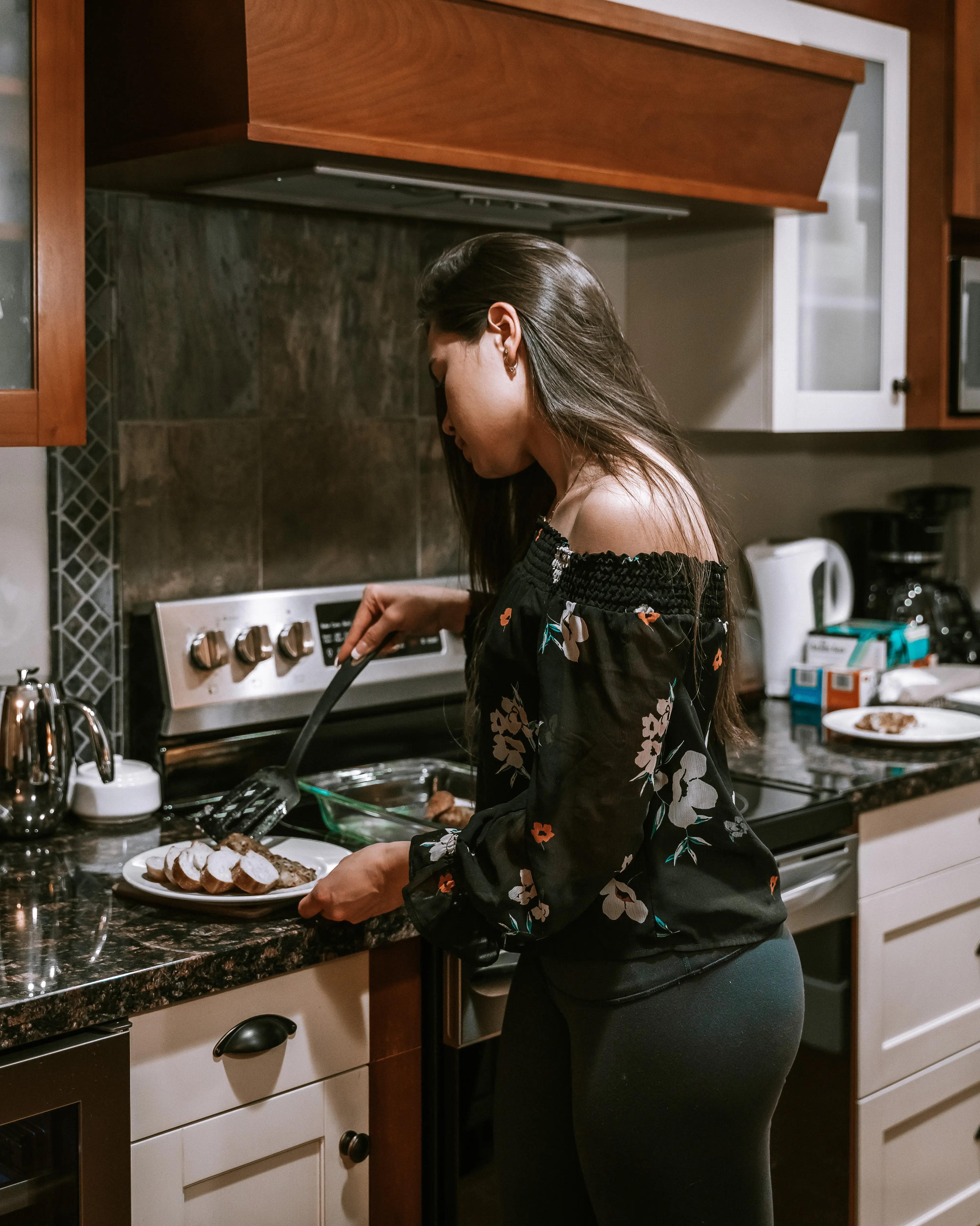 48 Hours in Canmore - Solara Resort & Spa 2-Bedroom Suite Kitchen