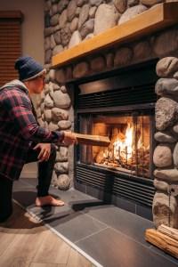 Buffalo Mountain Lodge - Buffalo Suite fireplace