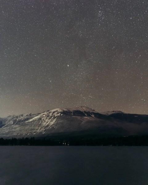 Jasper, Alberta, dark sky festival, dark sky preserve, Lake Edith, stargazing, astrophotography, Milky Way