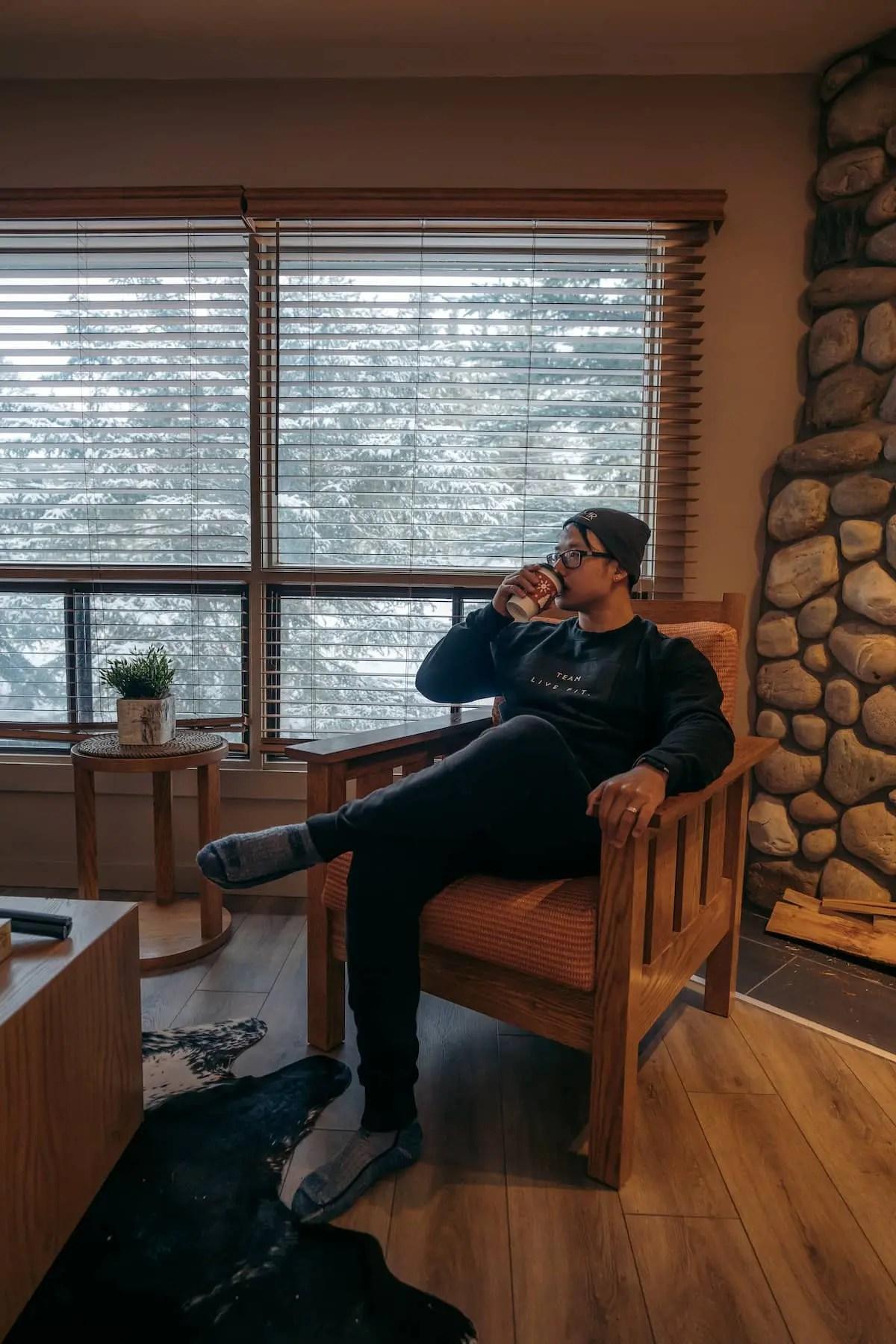 Buffalo Mountain Lodge - Buffalo Suite living space
