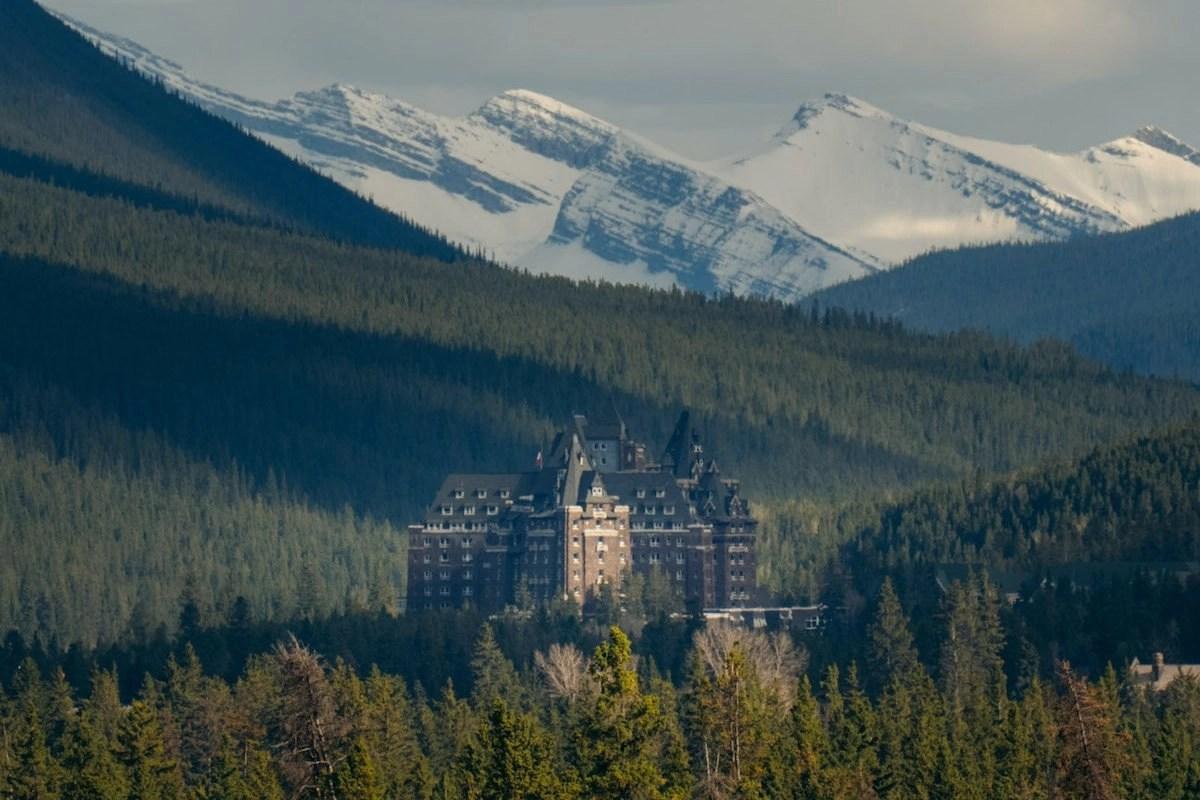 Fairmont Banff Springs Hotel in Banff Valley
