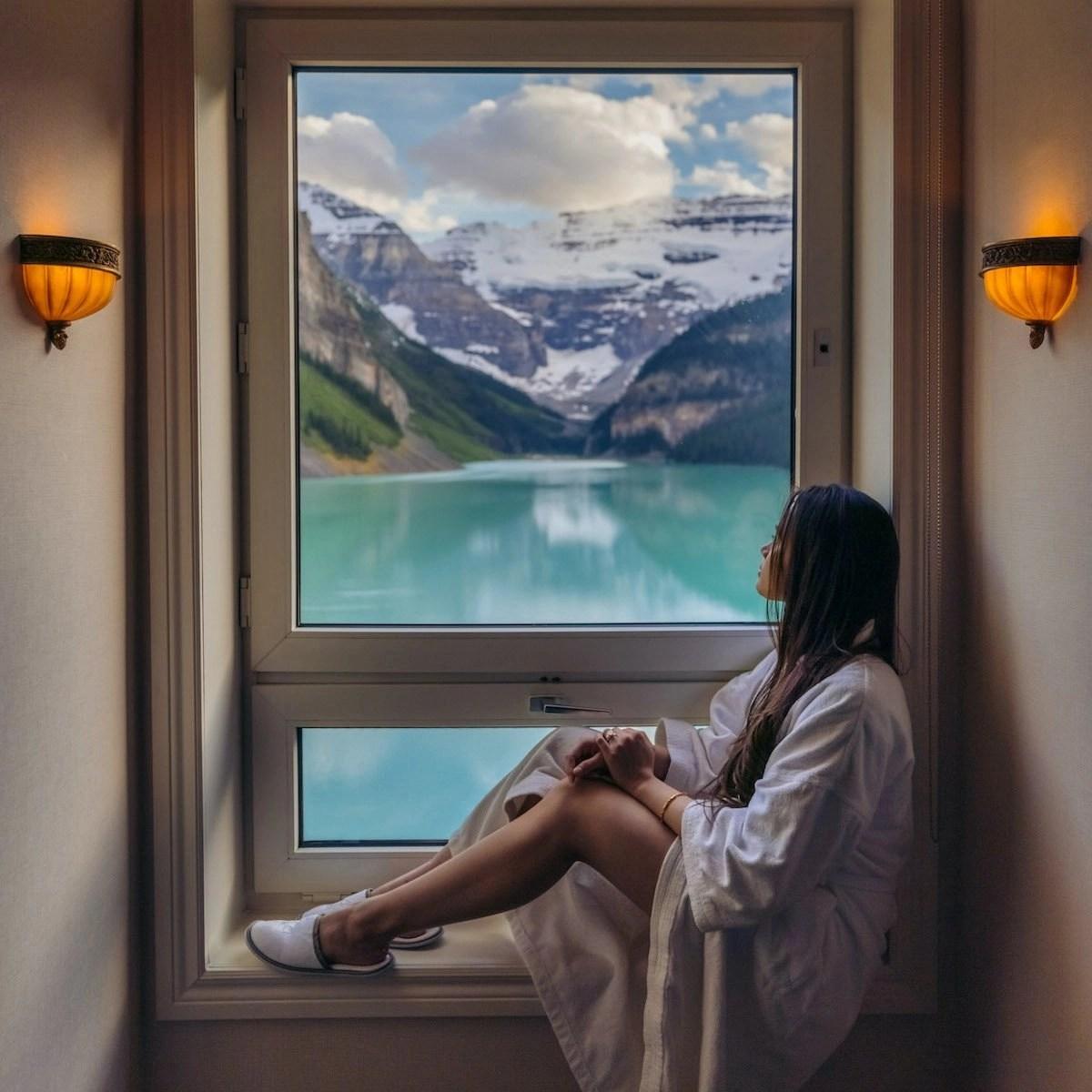 Fairmont Lake Louise Lakeview Room