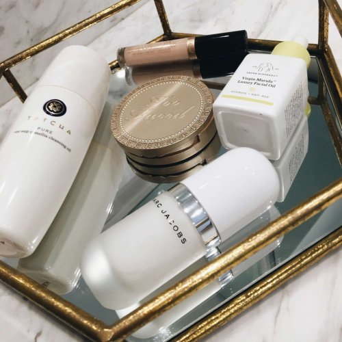 Project ten pan makeup, skincare, and haircare.