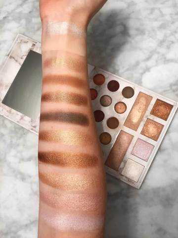 Carli Bybel Deluxe Edition Palette Swatches