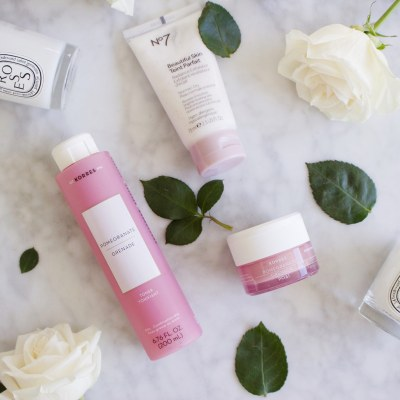 Rosy Soft Skincare with Korres & No7