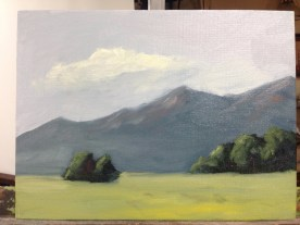My finished study - without any kind of wash