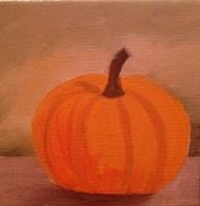 lauren spires fine art _pumpkin painting in progress