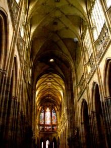 St. Vitus Cathedral, interior