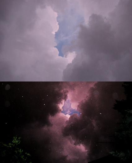 Ciel dorage à La Ciotat (LK)