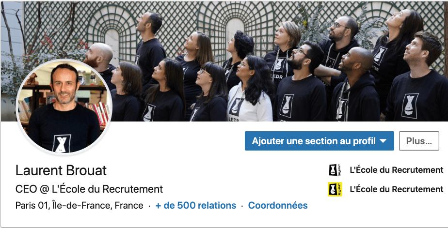 incarner le role du CEO Laurent Brouat Linkedin
