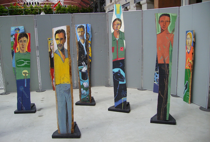 totems  Laurent Corvaisier