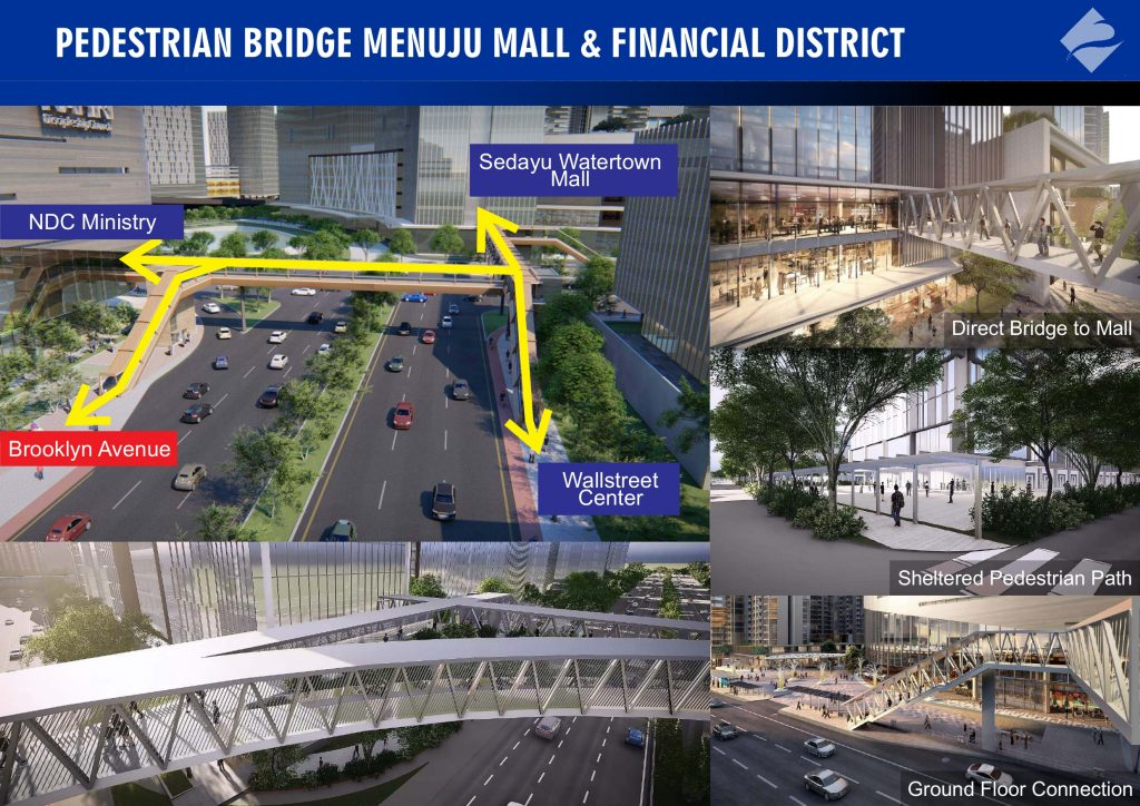 Pedestrial Bridge - Mall - Financial Disrict