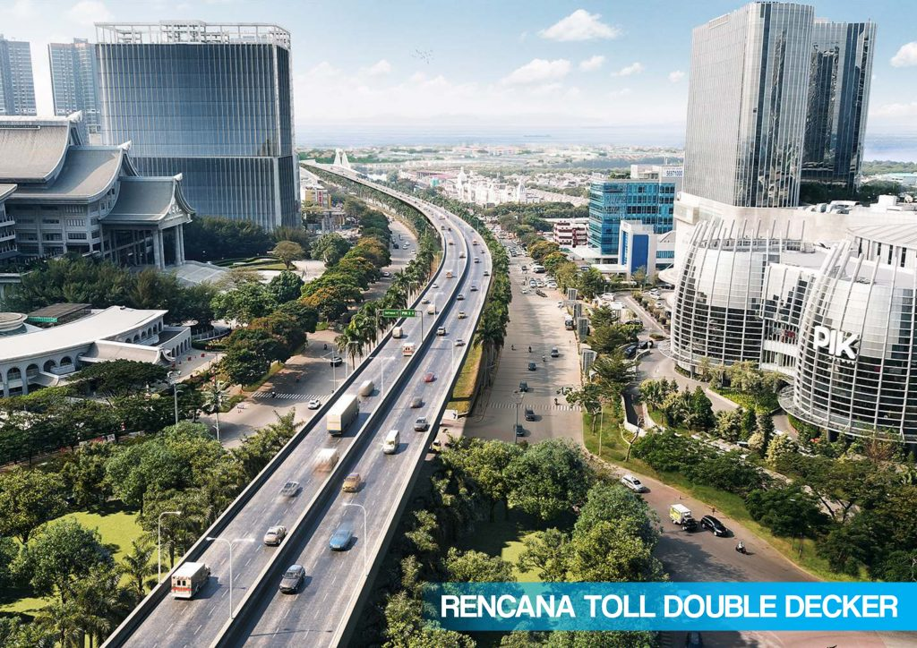 rencana toll double decker