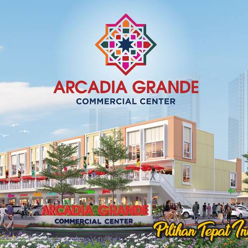 Ruko Arcadia Grande Commercial Center Paramount Land Gading Serpong