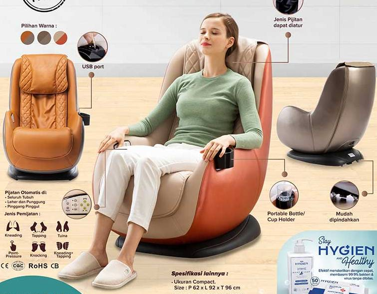 promo diskon koji massage chair