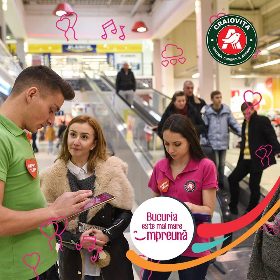 Promotii Centrul Comercial Auchan / S.C. NTRANCE S.R.L.