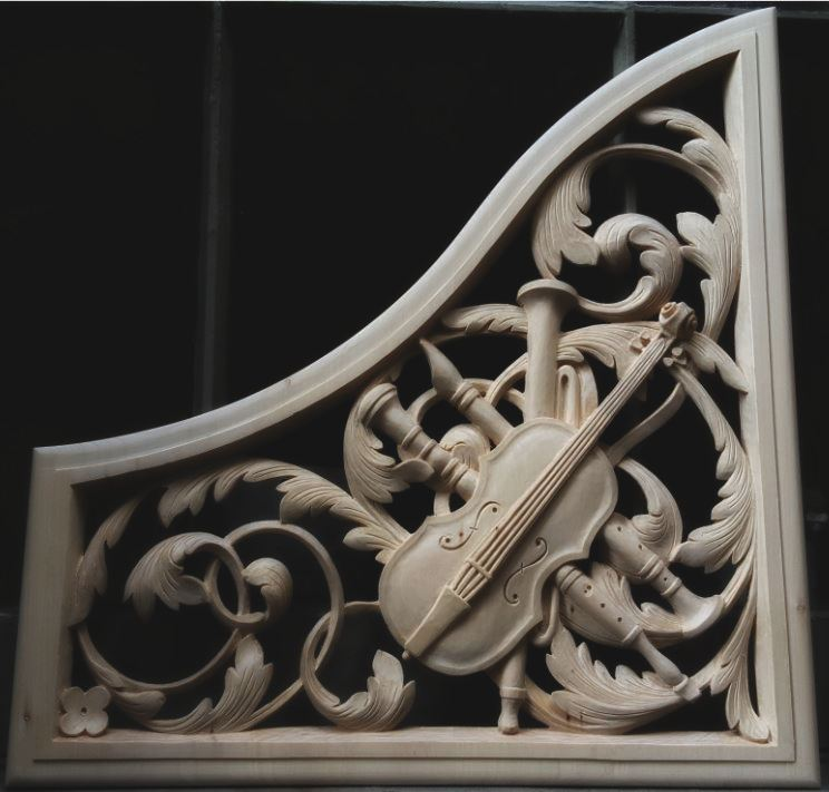 Wood carvings by laurent robert woodcarver designs and