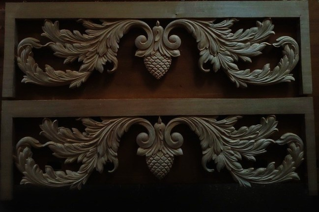 pipe organ sculptures for bruton church in williamsburg including two towers carvings by laurent robert
