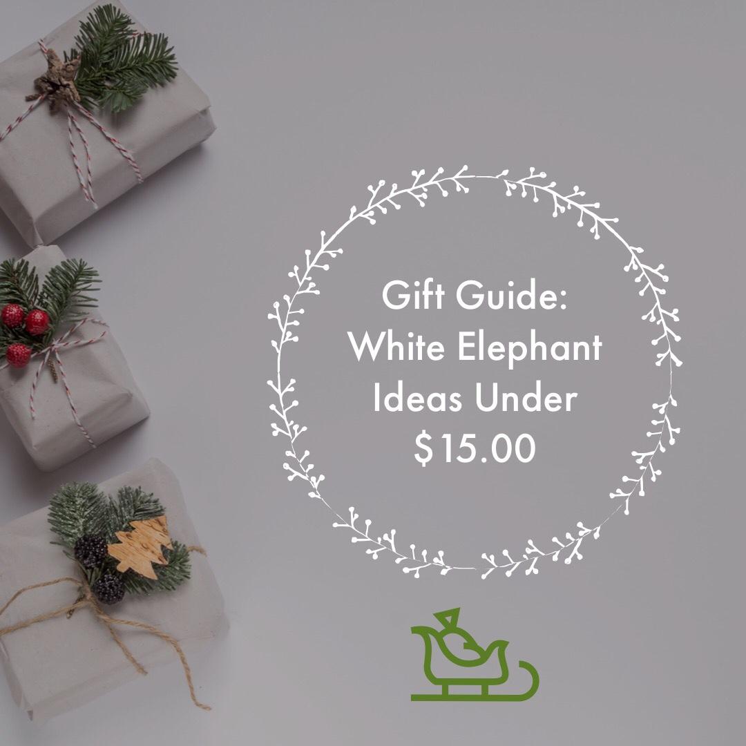 Git Guide: White Elephant Ideas Under $15.00
