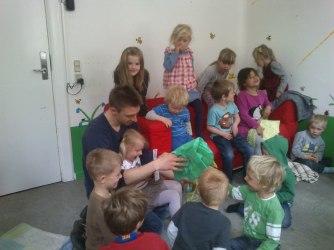 Clara fødselsdag i børnehaven