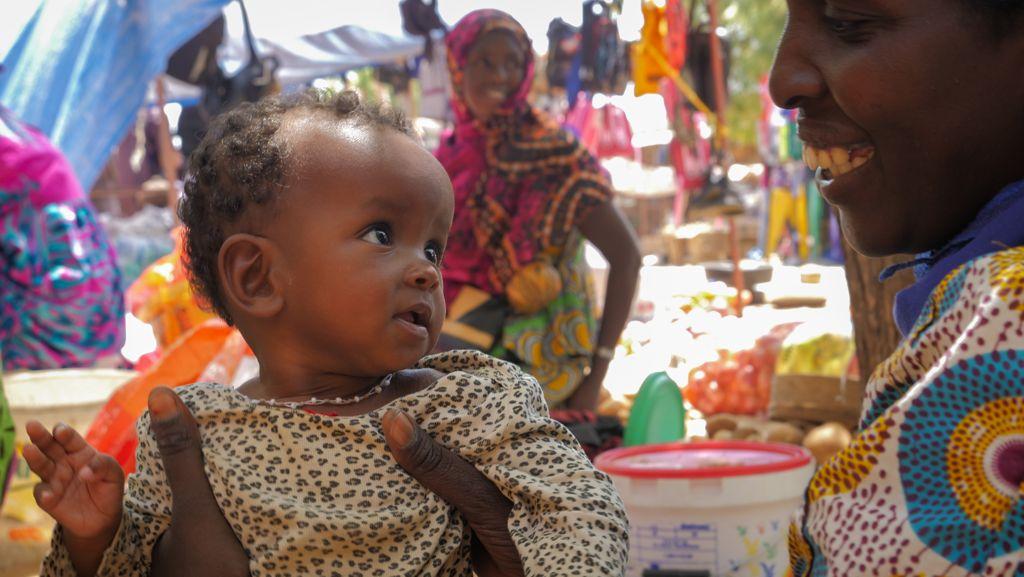 Sénégal - rencontres sur un marché