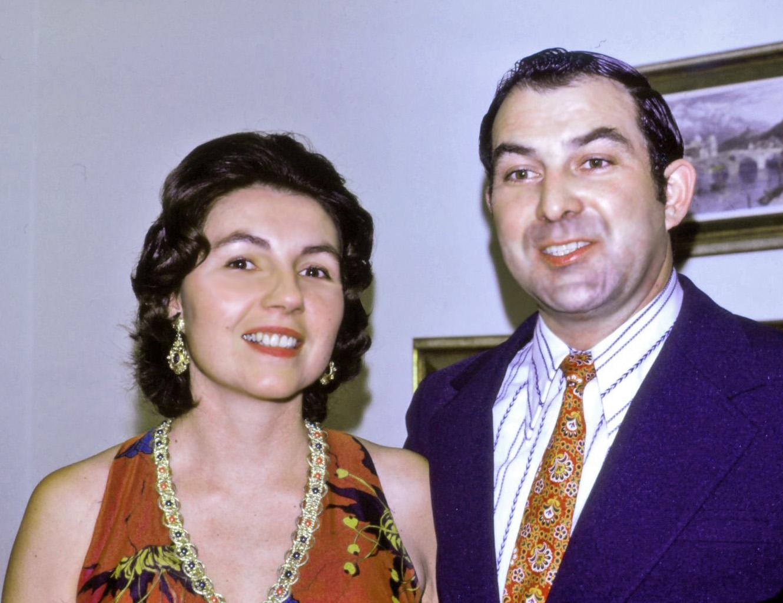 mom & dad in 1973