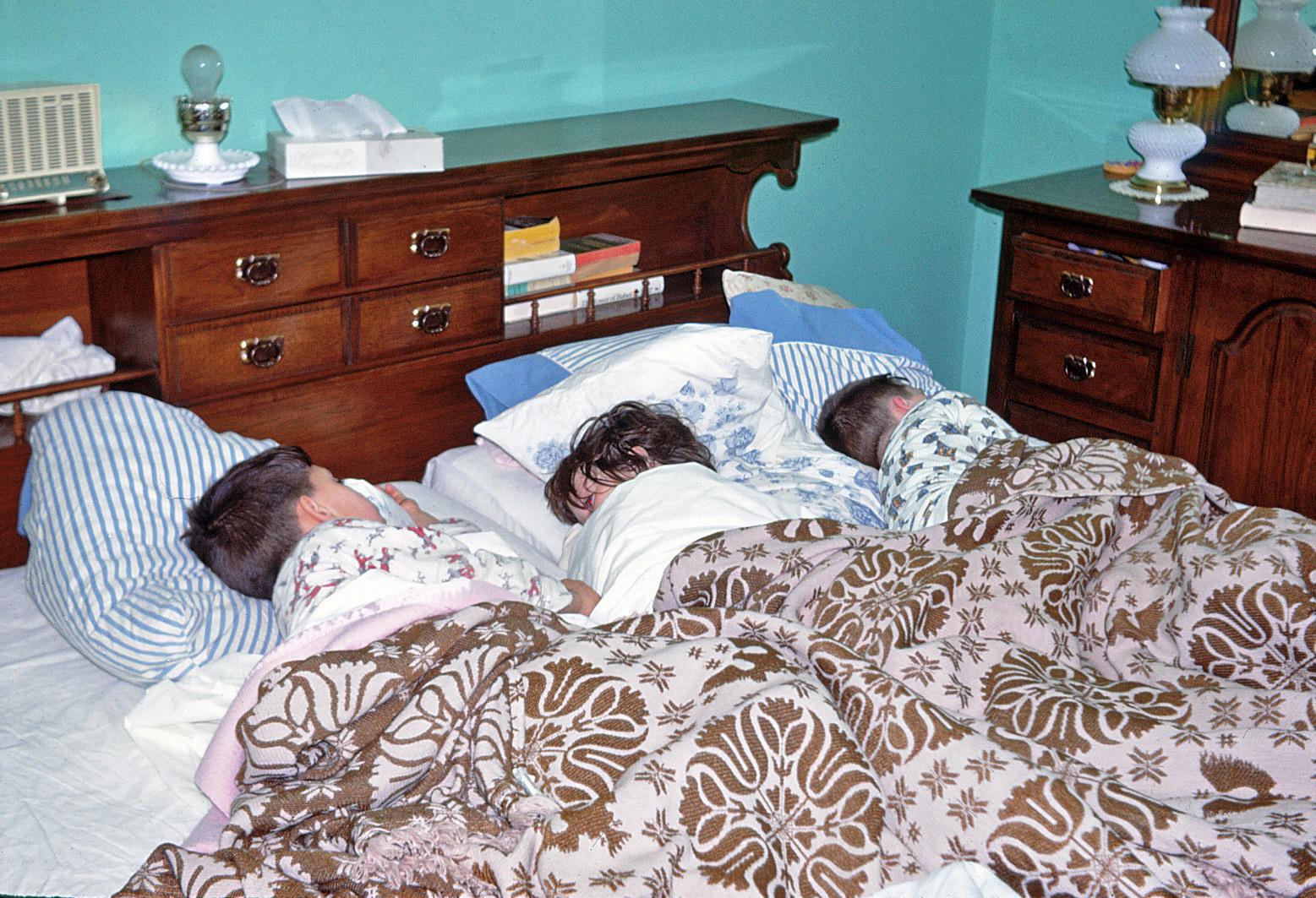Peter Laurie & Michael Sleeping