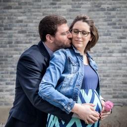 Anne-Alexandre et Alex, petite famille de Québec