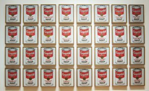 andy warhol's cambell's soup