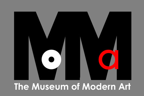 Moma Logo Redesign Gray