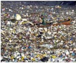 boat in debris