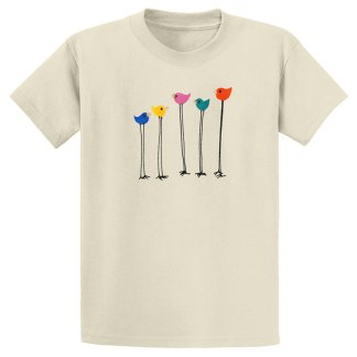 UniSex-SS-Tee-natural-multi-bird-row