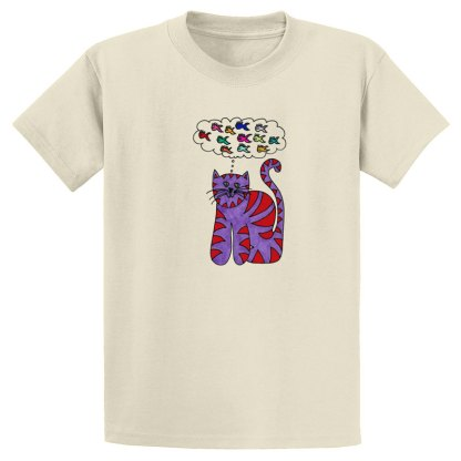 UniSex-SS-Tee-natural-thinking-cat