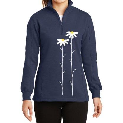 14-Zip-Sweatshirt-navy-daisiesW