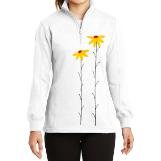 14-Zip-Sweatshirt-white-daisiesY