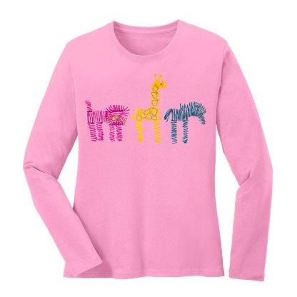 LS-Tee-pink-zoo-rowMulti