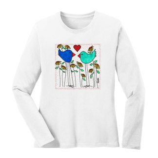 LS-Tee-white-love-birds-flowers
