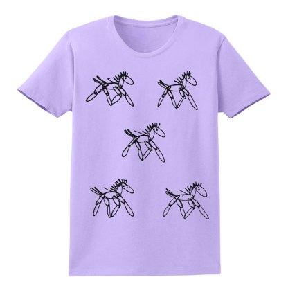 SS-Tee-lavender-running-horsesB