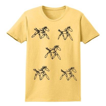 SS-Tee-yellow-running-horsesB