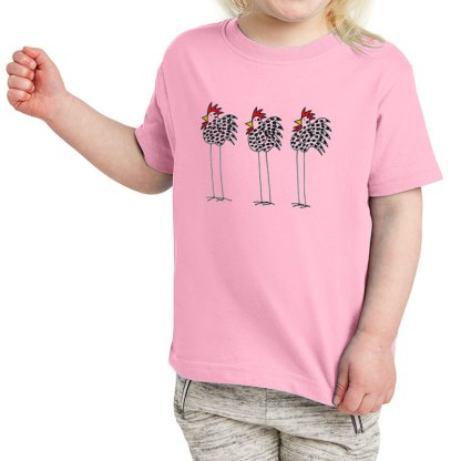 SS-Toddler-T-pink-3-chickens
