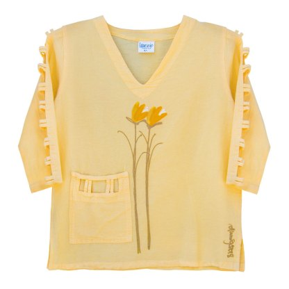 lattice-sleeve-w-pocket-yellow-gold-floral