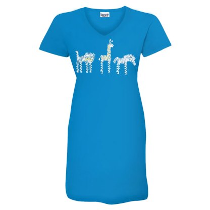 t-dress-turquoise-zoo-row