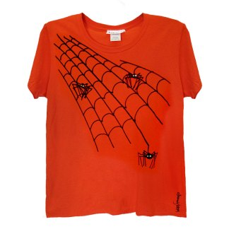 SS-Tee-orange-spiders-web