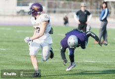 20170324 - Kha Vo - Laurier Football scrimmage vs Western_-186