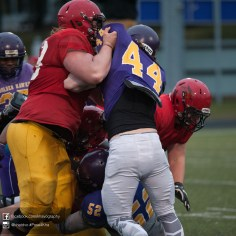 20170331 - Kha Vo - Laurier Football scrimmage vs Guelph_-186