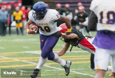 20170331 - Kha Vo - Laurier Football scrimmage vs Guelph_-154