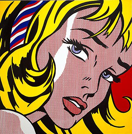 Roy Lichtenstein  Girl with Hair Ribbon, 1965
