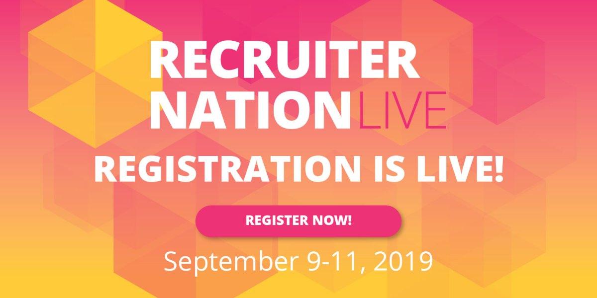 Recruiter Nation Live 2019