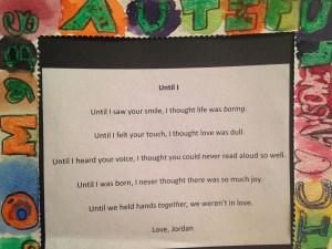 jordan's poem