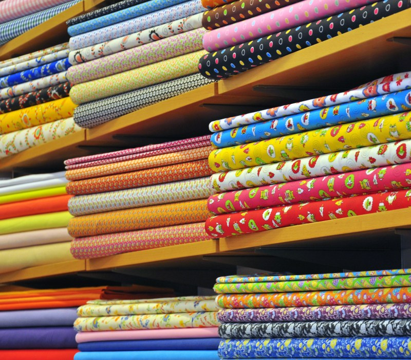 image stacks of fabric